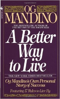 A Better Way to Live Book Cover