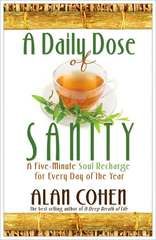 A Daily Dose of Sanity Book Cover