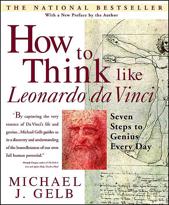 How to Think Like Leonardo da Vinci Book Cover