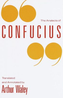 The Analects of Confucius Book Cover
