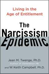 The Narcissism Epidemic Book Cover