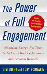 The Power of Full Engagement Book Cover