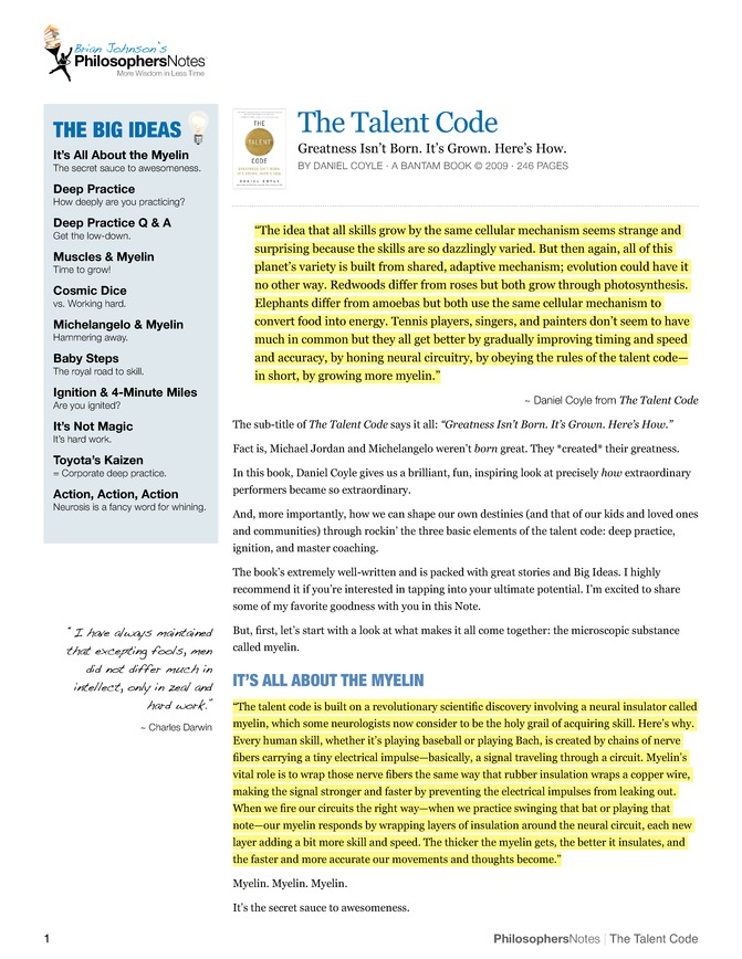 daniel coyle the talent code The latest tweets from danielcoyle (@danielcoyle) author of the culture code, the talent code, and the secret race ohio and alaska.