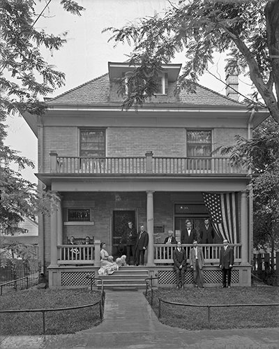 Preserving Historic Wood Porches Brick Beam Detroit