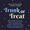 Trunk or Treat - Oct 27
