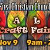 FCC Fall Craft Fair - Nov 9