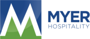 Myer hospitality logo horizontal medium