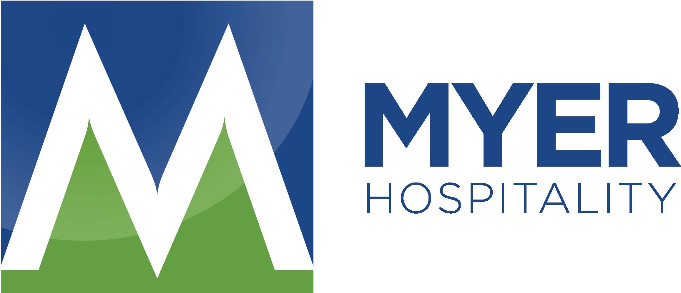 Myer hospitality logo horizontal original