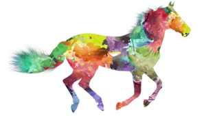 Colorful-horse-medium
