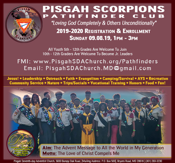 Pisgah SDA Pathfinders Club