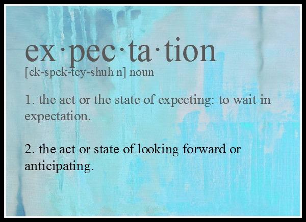 Expectation original