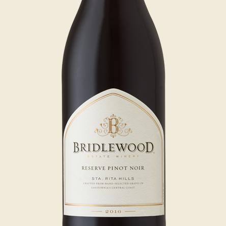 2017 Reserve Pinot Noir Sta. Rita Hills bottle shot