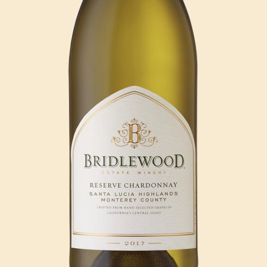 2017 Reserve Chardonnay Santa Lucia Highlands bottle shot