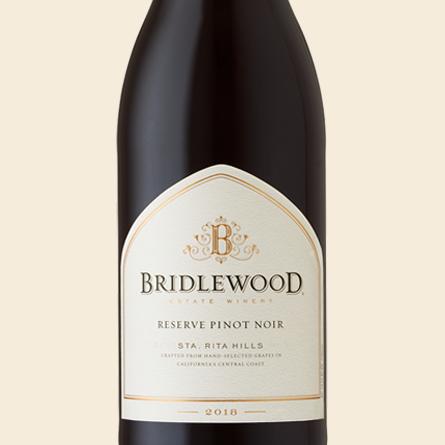 2018 Pinot Noir, Sta Rita Hills bottle shot