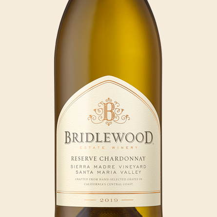 2019 Chardonnay, Santa Maria Valley bottle shot