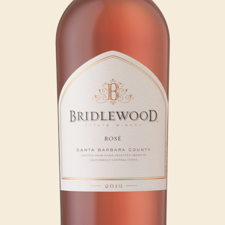 2019 Rosé Paso Robles bottle shot