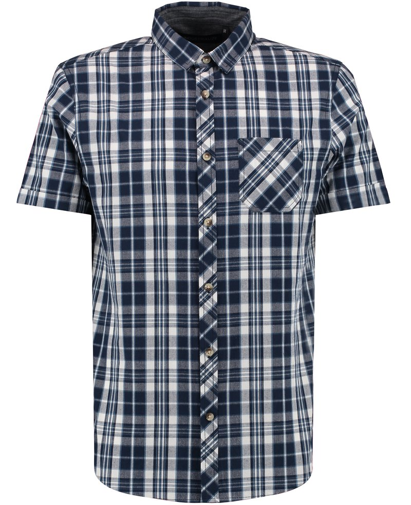 Blue Inc check shirt
