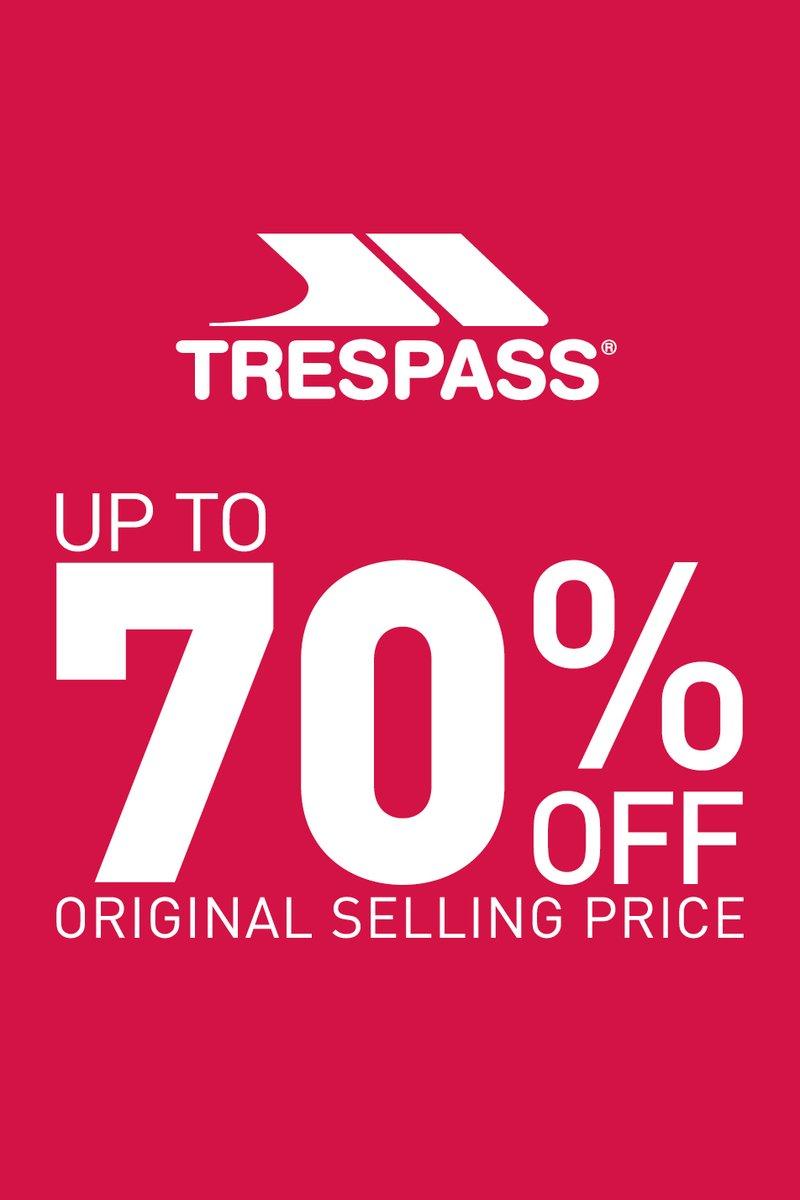 Trespass offer