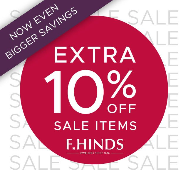 F.Hinds extra 10% sale