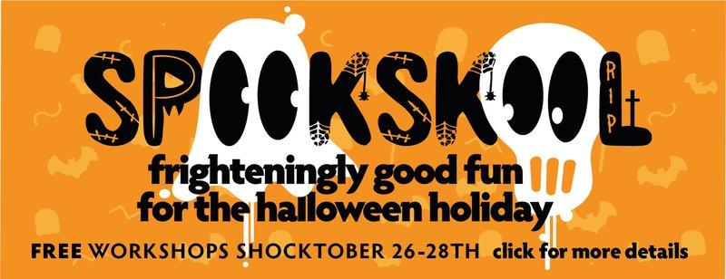 Spooky Skool Banner