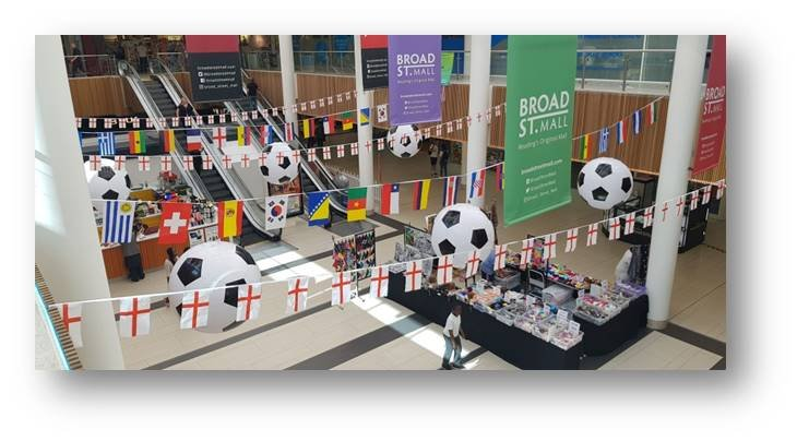 World Cup bunting