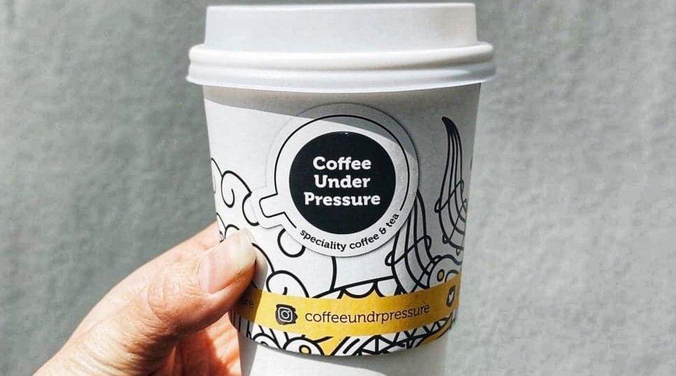 Coffee Under Pressure Coffee Cup