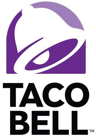 Taco Bell Logo White
