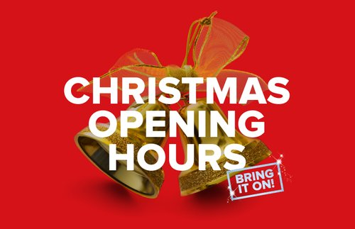 Christmas Hours.Christmas Opening Hours