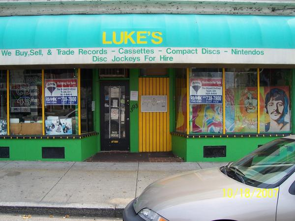 Luke's record exchange