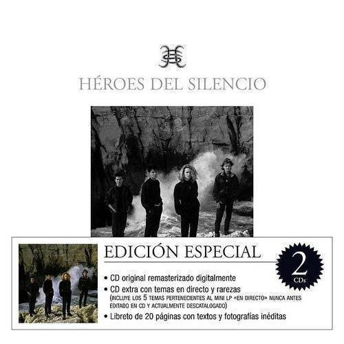 Heroes Del Silencio - El Mar No Cesa (W/Cd) (Spa)