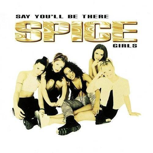 Spice Girls - Say You'll Be There (3-Track Maxi-Single)