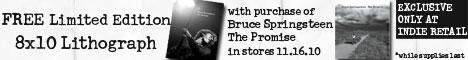 Bruce Springsteen litho banner