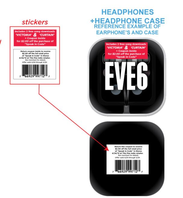 eve 6 headphones