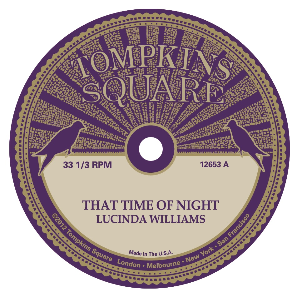 Lucinda Williams & Michael Chapman - That Time Of Night