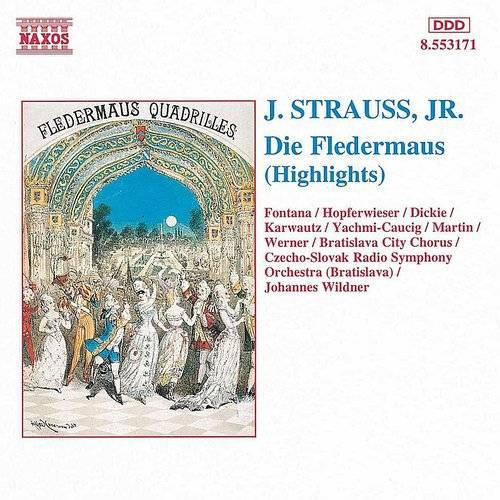 Andrea Martin - Strauss II: Fledermaus (Die) (Highlights)