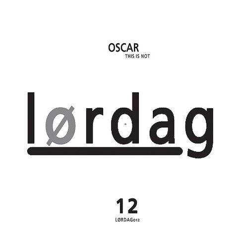 Oscar - This Is Not EP