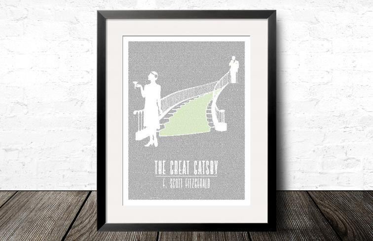 Litographs - The Great Gatsby