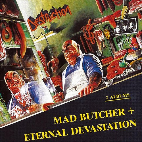 Destruction - Mad Butcher (Wht) (Uk)
