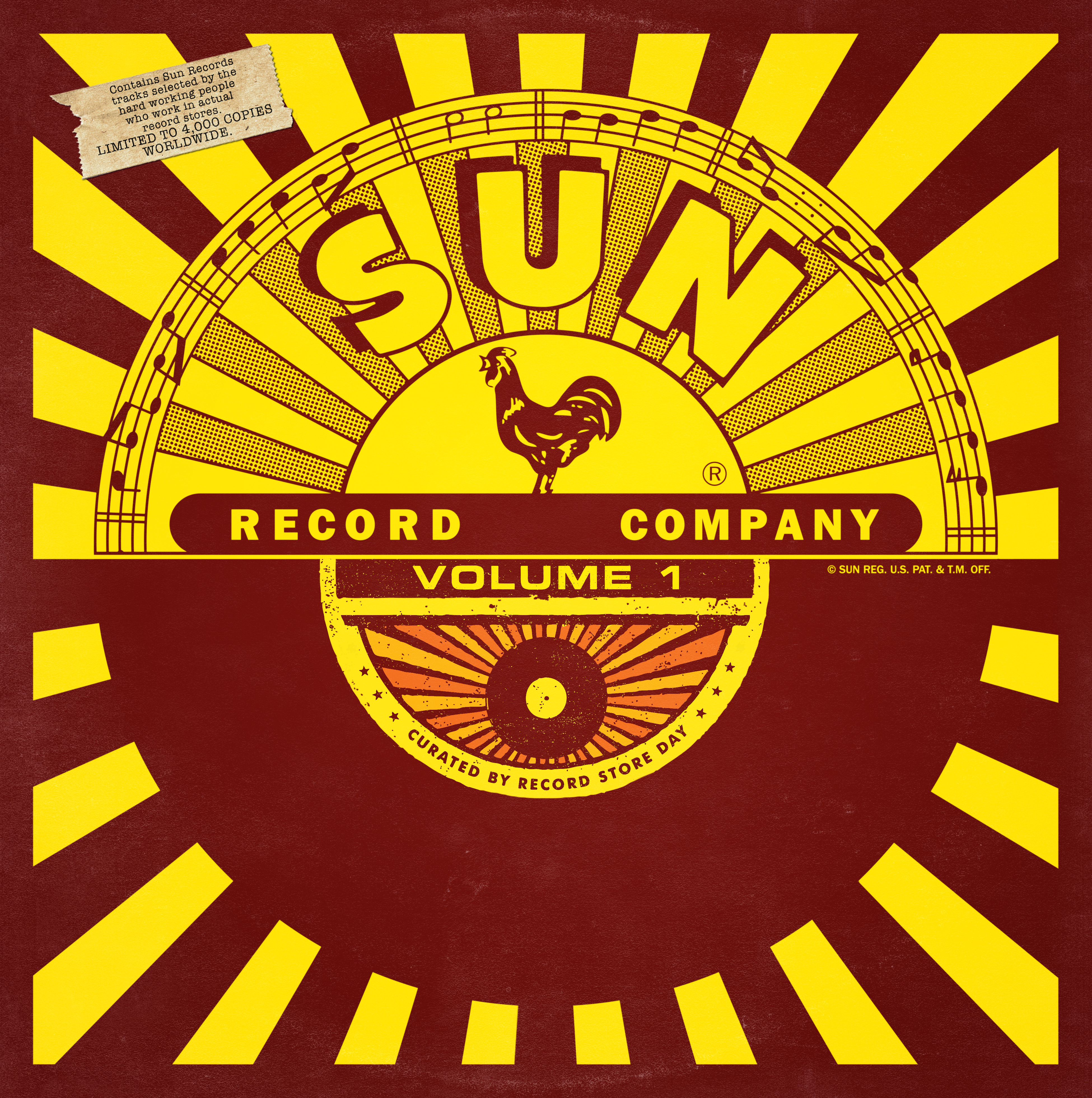 Various Artists - Sun Records Curated by Record Store Day (Volume 1) [RSD 2014]