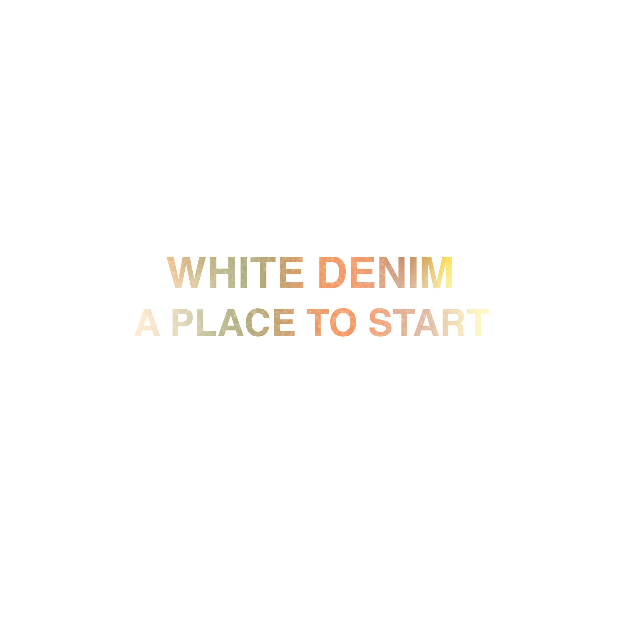 White Denim - A Place To Start (Jamie Lidell remix)