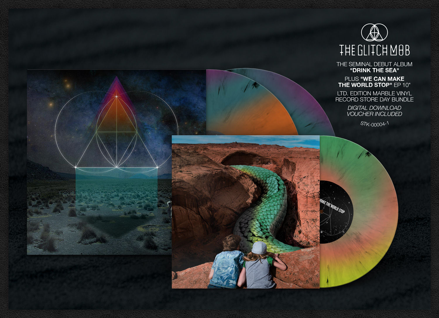 The Glitch Mob - Drink The Sea/We Can Make The…
