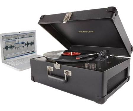 Crosley Keepsake Black