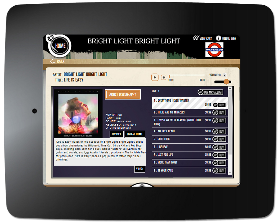 Bright Light Bright Light - Kiosk Item
