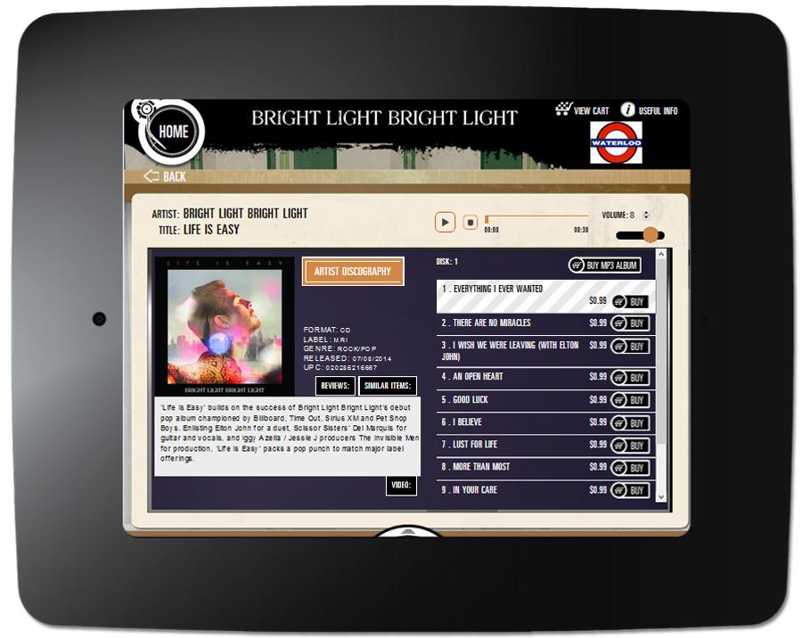Bright Light Bright Light - Kiosk Item