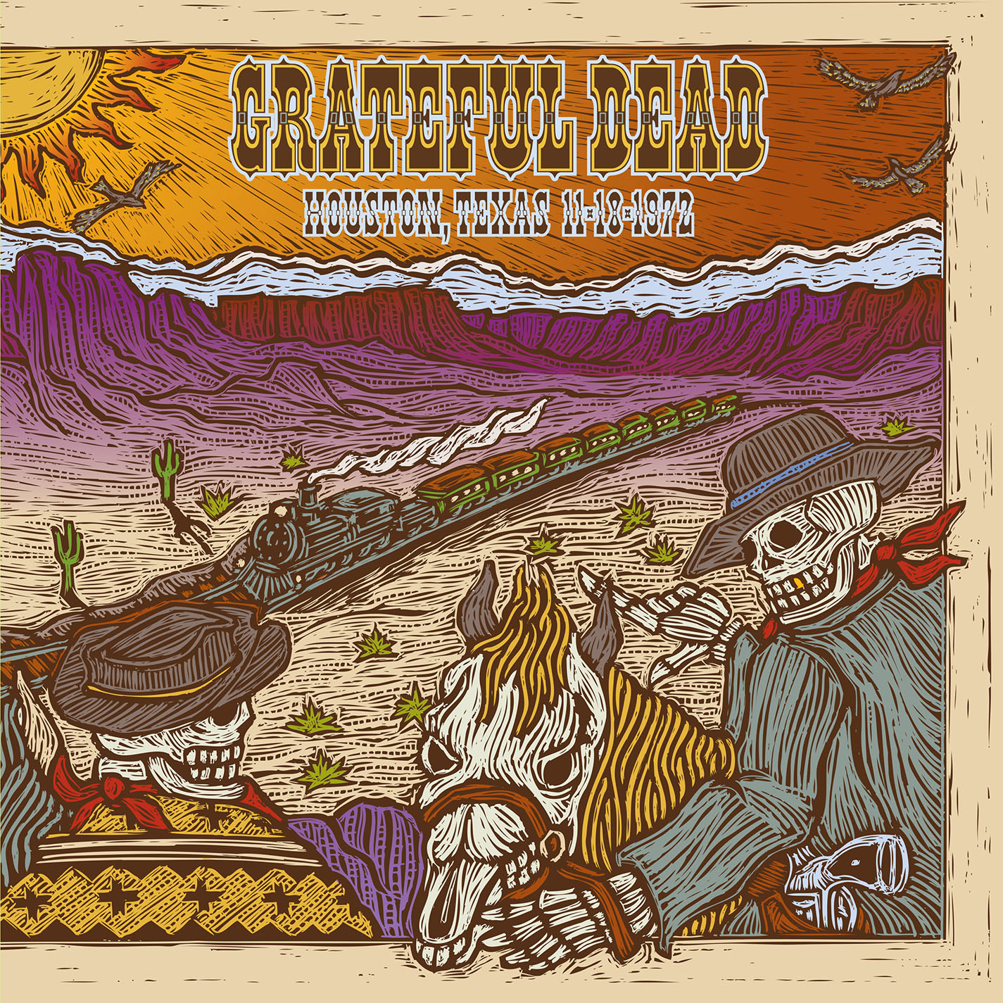 Grateful Dead - 11/18/72 Hofheinz Pavilion, Houston TX
