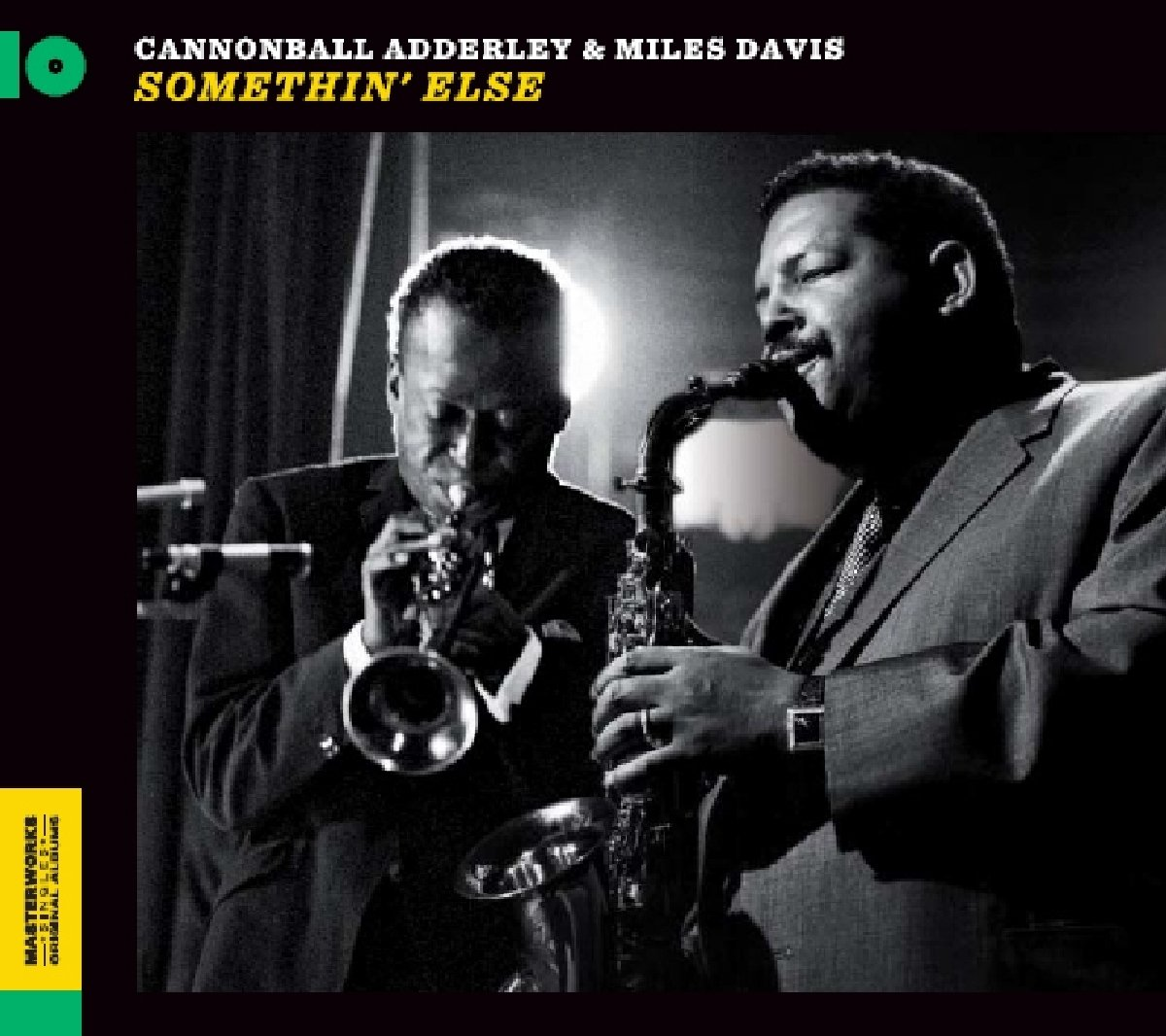 Cannonball Adderley - Somethin Else (Blue) (Ltd) (Uk)