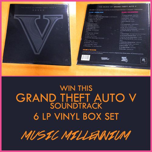 grand theft auto soundtrack vinyl