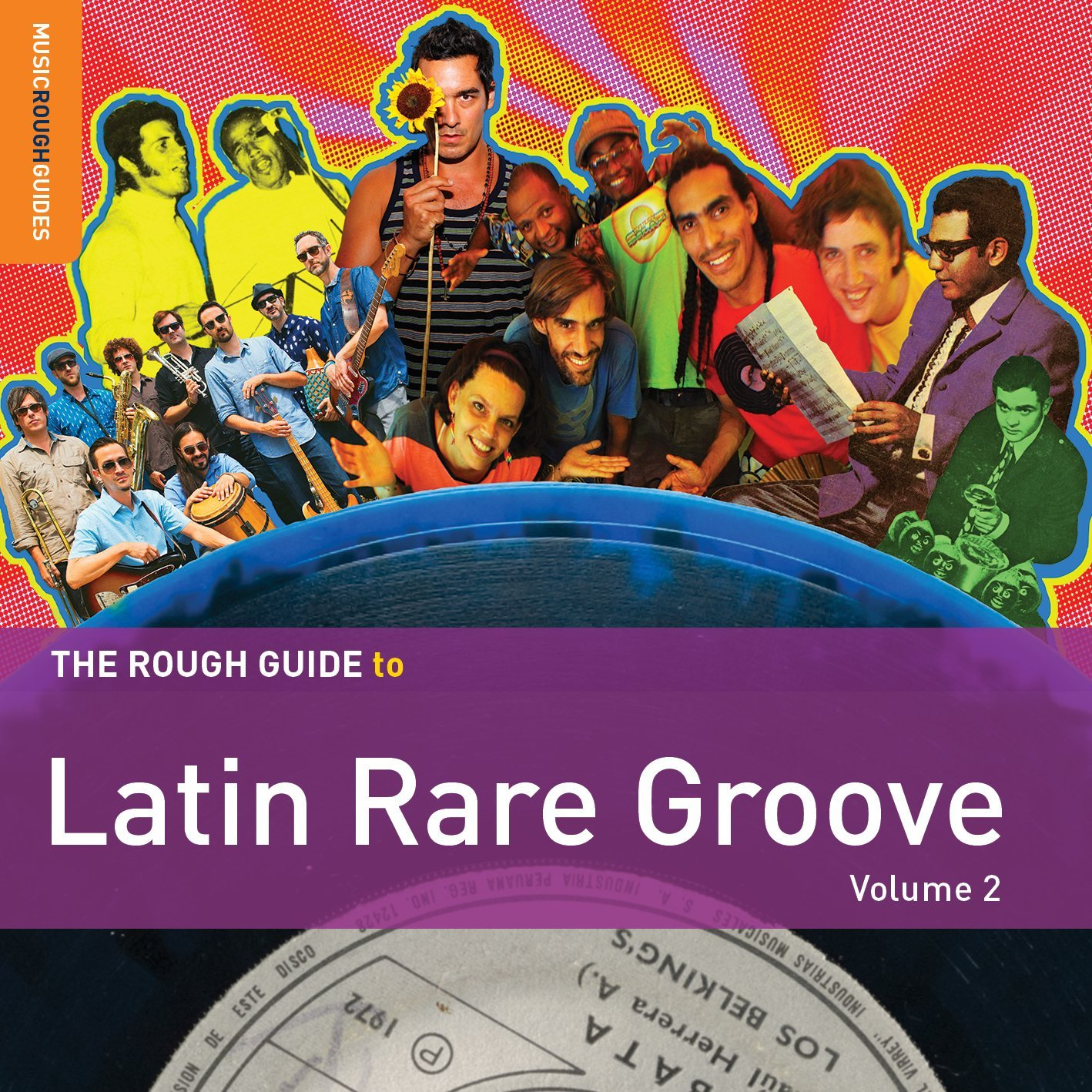Various Artists - Rough Guide to Latin Rare Groove (Volume 2)