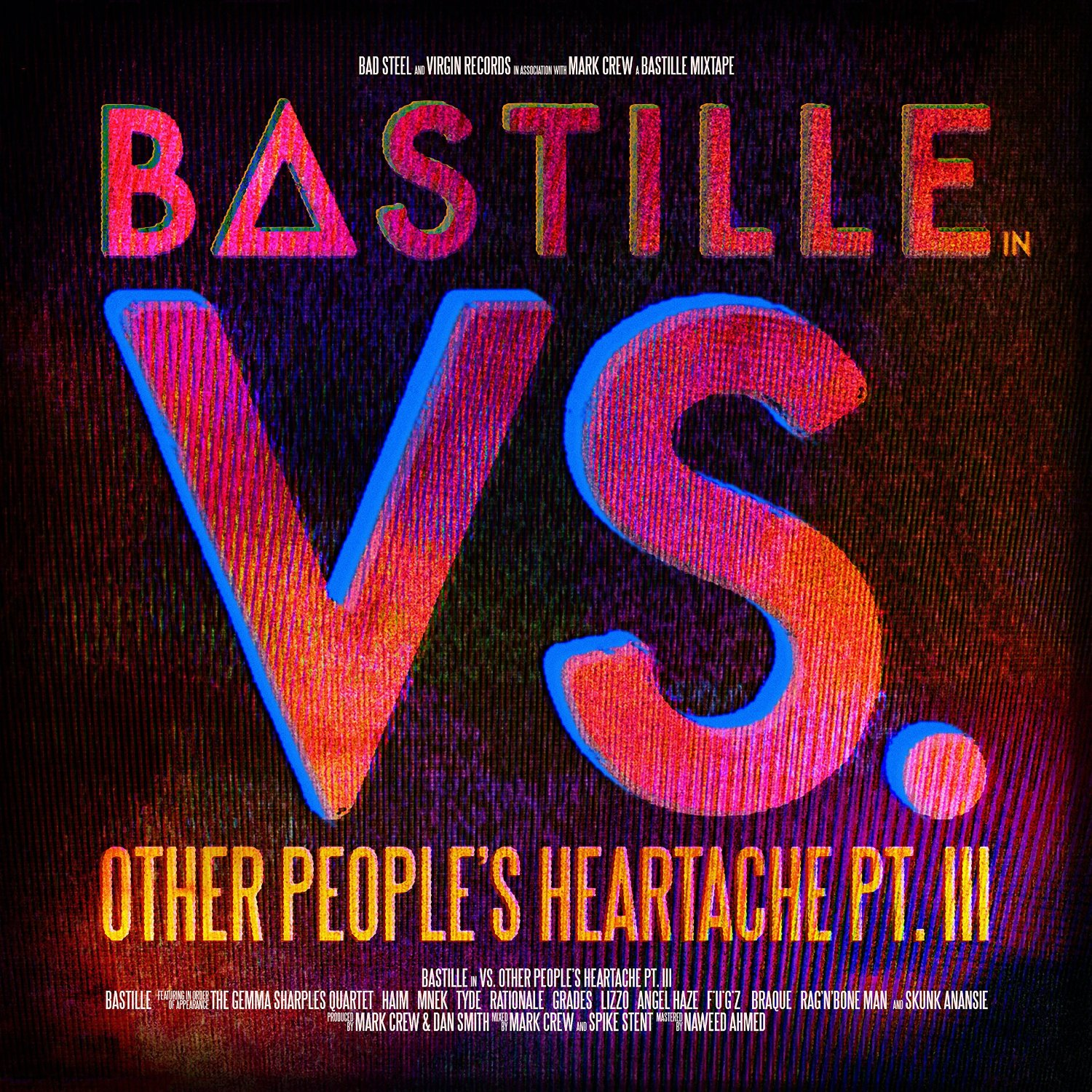 Bastille - Vs. (Other People's Heartache, Pt. III)  [RSD Drops 2021]