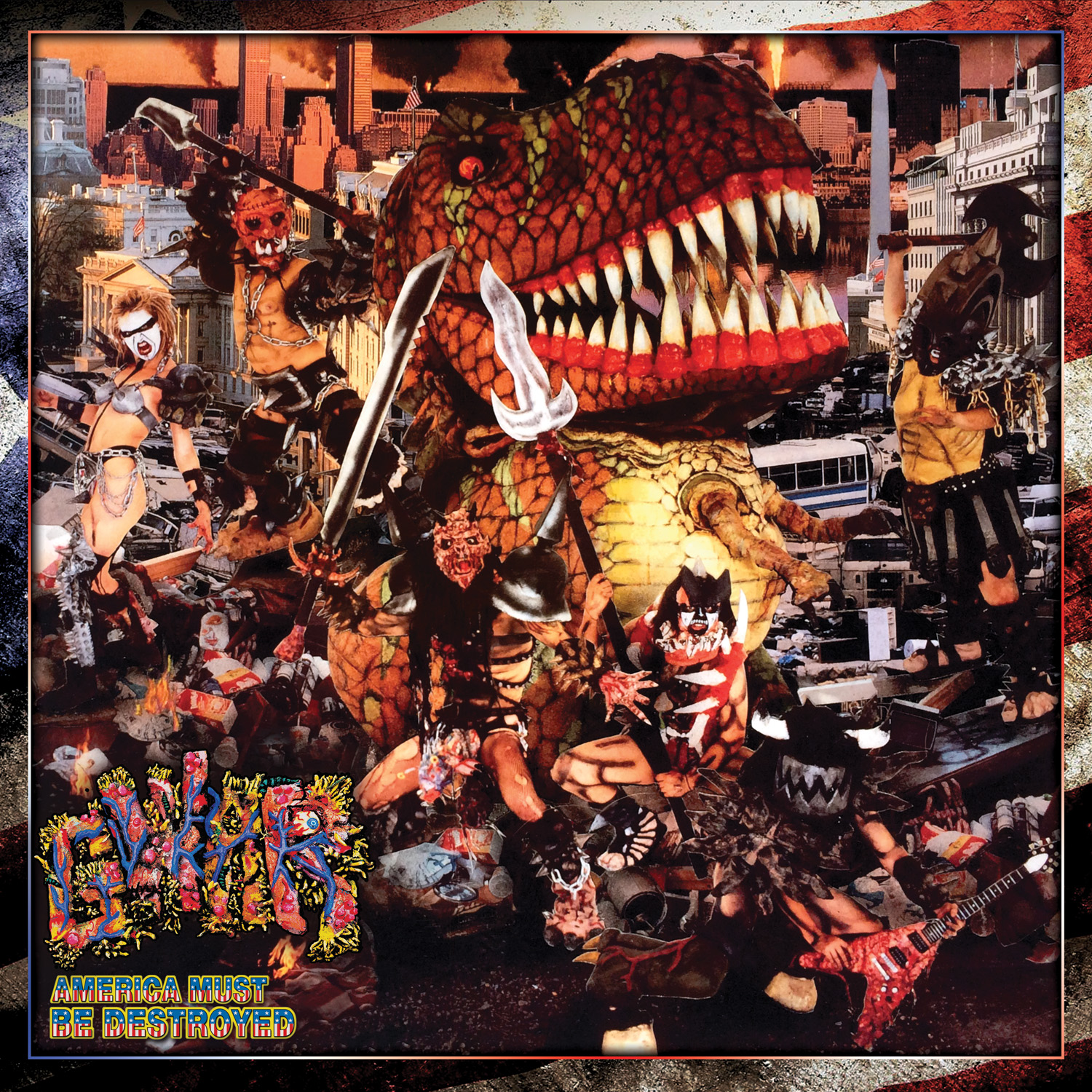 GWAR - America Must Be Destroyed